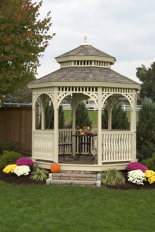 Gardencraft Pvc Vinyl Gazebo Low Maintenance
