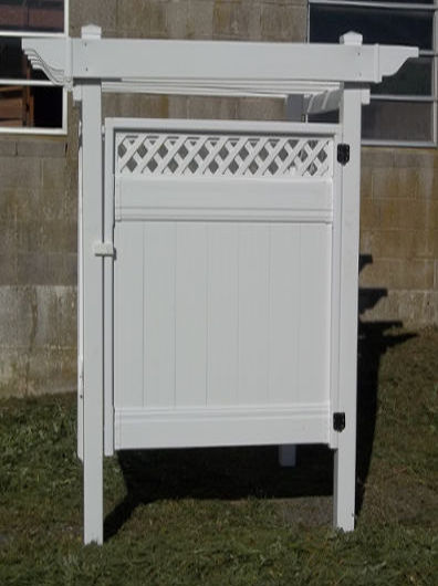 Pa Amish Outdoor Pvc Vinyl Shower Stall