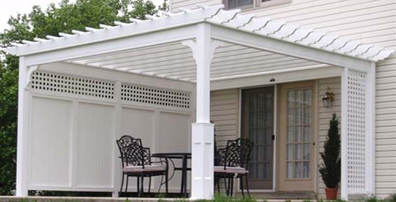 Country Lane Woodworking Vinyl Garden And Patio Pavilions