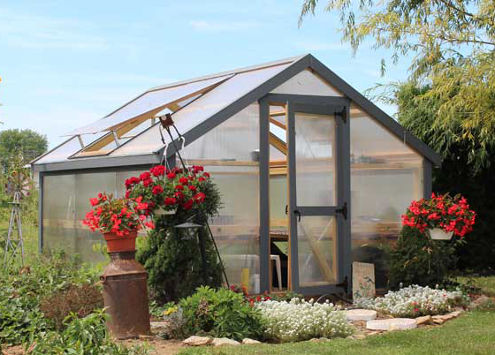 Lapp Structures Quality Amish Built Greenhouse
