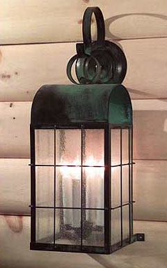 Colonial Style Solid Copper Lighting